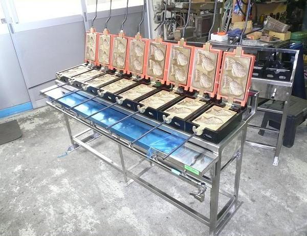 たい焼き器 業務用オーダー