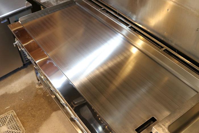 オーダーによる鉄板焼き・お好み焼き用 鉄板・ガス機器