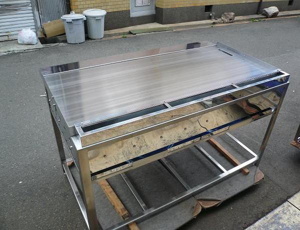 業務用鉄板焼き器 オーダー