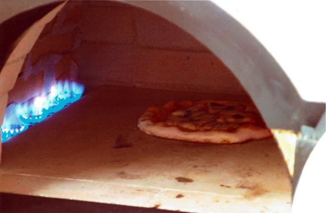 ガス式 ピザ窯