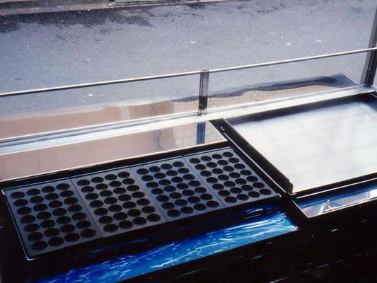 たこ焼き器 明石焼き器(たまご焼き器)