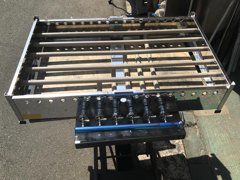大判焼き器(回転焼き器・今川焼き器)のガス機器